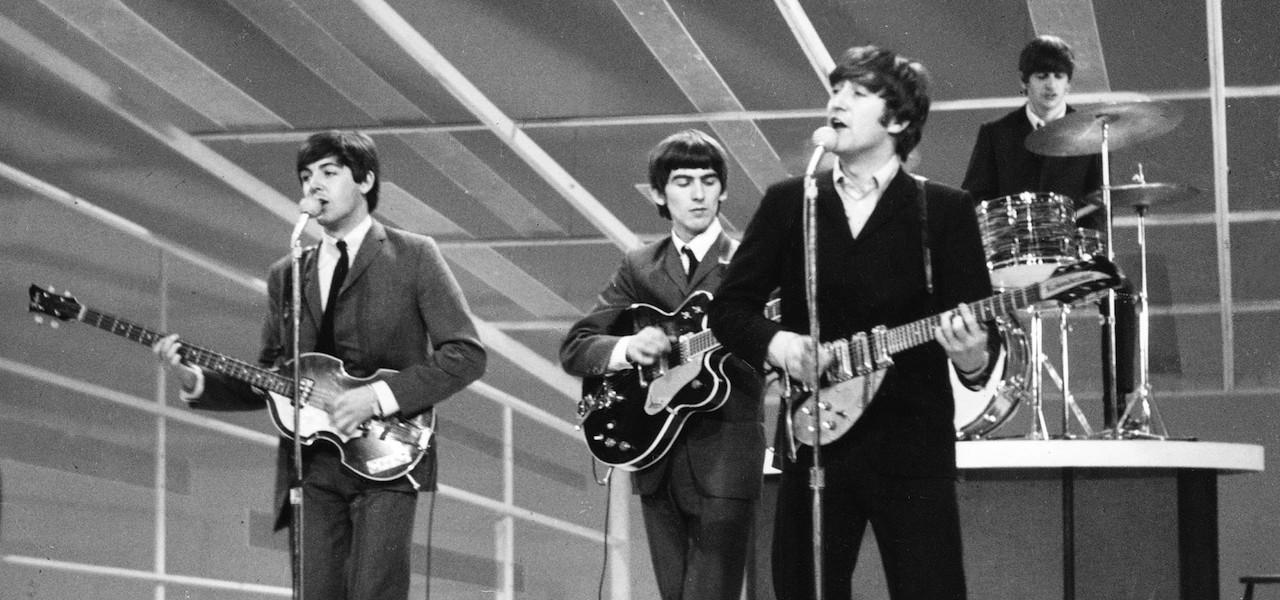 Lennon McCartney Harrison Starr
